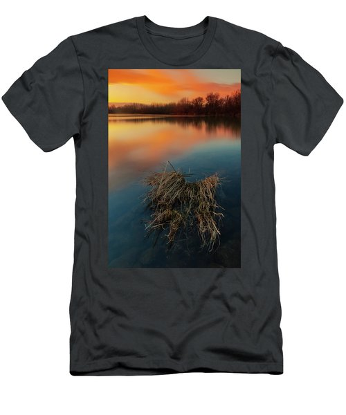 Men's T-Shirt (Athletic Fit) featuring the photograph Warm Evening by Davor Zerjav