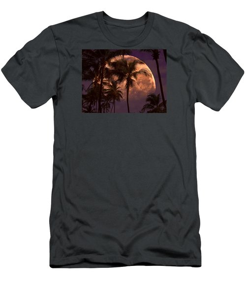 Men's T-Shirt (Slim Fit) featuring the photograph Warm Tropical Nights by John Rivera