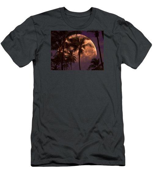 Warm Tropical Nights Men's T-Shirt (Slim Fit) by John Rivera
