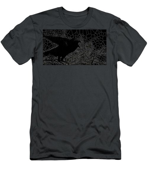Warning Men's T-Shirt (Athletic Fit)