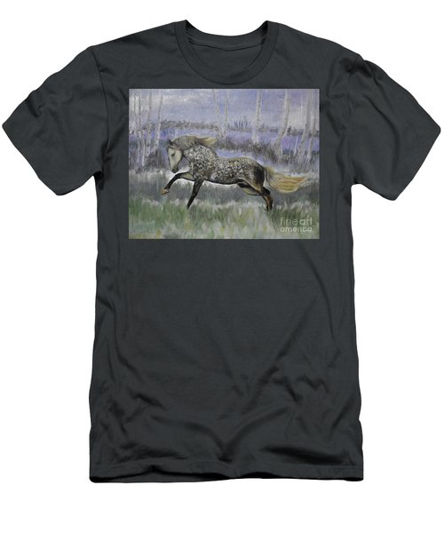 Warrior Of Magical Realms Men's T-Shirt (Athletic Fit)