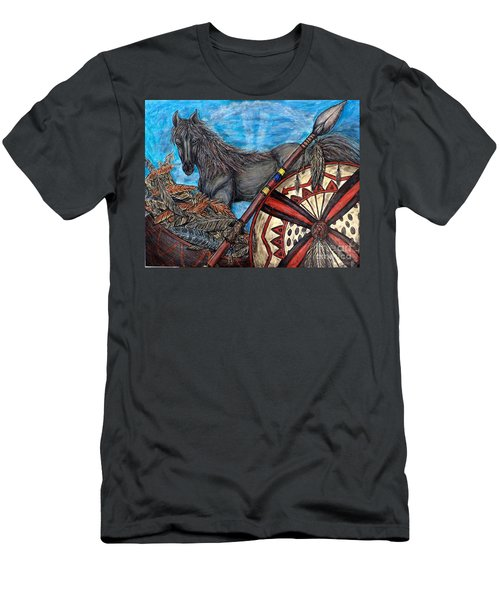 Warrior Spirit Men's T-Shirt (Athletic Fit)