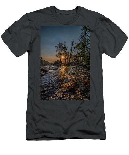 Washed With Golden Rays Men's T-Shirt (Athletic Fit)