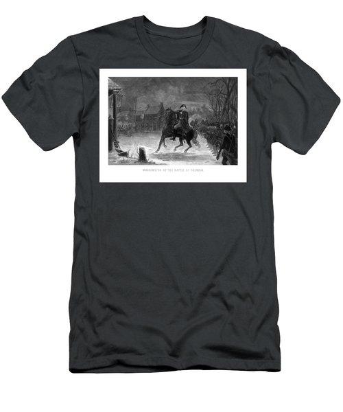 Washington At The Battle Of Trenton Men's T-Shirt (Athletic Fit)