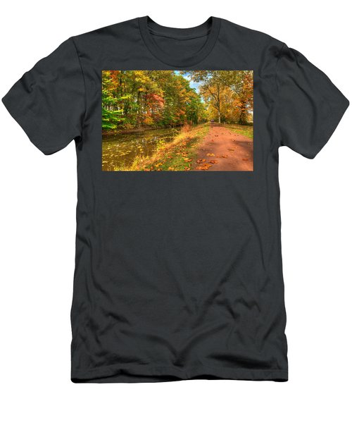 Washington Crossing Park Men's T-Shirt (Athletic Fit)