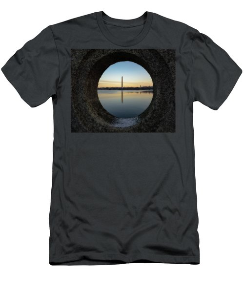Washington Monument Men's T-Shirt (Athletic Fit)