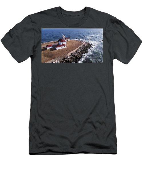 Watch Hill Lighhouse Men's T-Shirt (Athletic Fit)