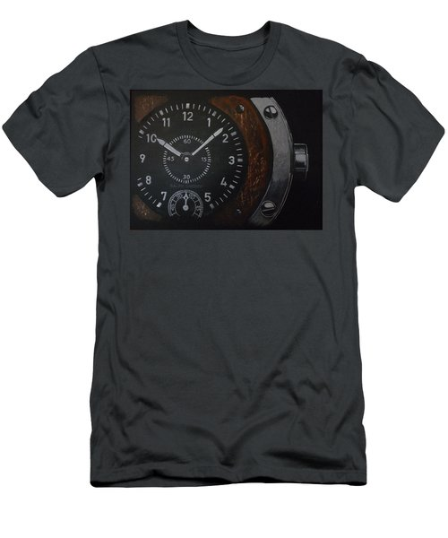 Men's T-Shirt (Athletic Fit) featuring the painting Watch by Richard Le Page