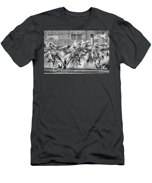 Watch Where You're Walking Men's T-Shirt (Athletic Fit)