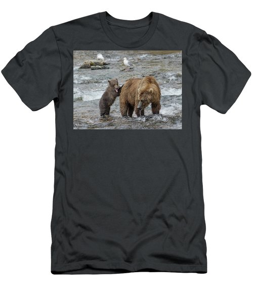 Watching For The Sockeye Salmon Men's T-Shirt (Athletic Fit)