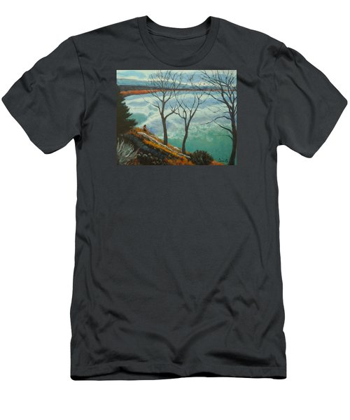 Watching The Clouds Go By Men's T-Shirt (Athletic Fit)
