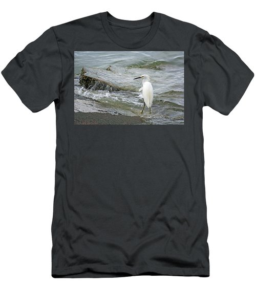 Watching The Tide Come In Men's T-Shirt (Athletic Fit)