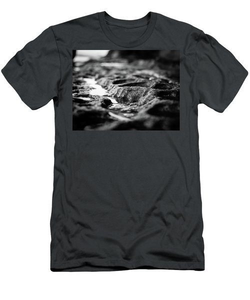 Water Carvings Men's T-Shirt (Athletic Fit)