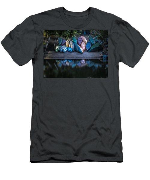 Water Color Men's T-Shirt (Athletic Fit)