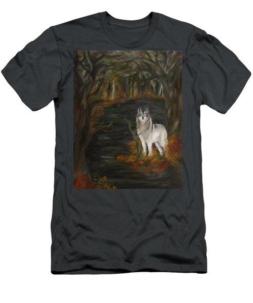 Water Dark Men's T-Shirt (Athletic Fit)