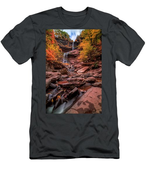 Water Falls  Men's T-Shirt (Athletic Fit)