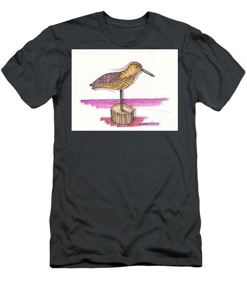 Water Fowl Motif #6 Men's T-Shirt (Athletic Fit)