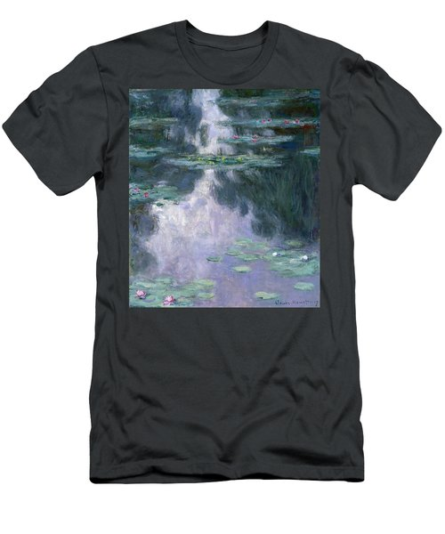 Water Lilies, Nympheas, 1907 Men's T-Shirt (Athletic Fit)
