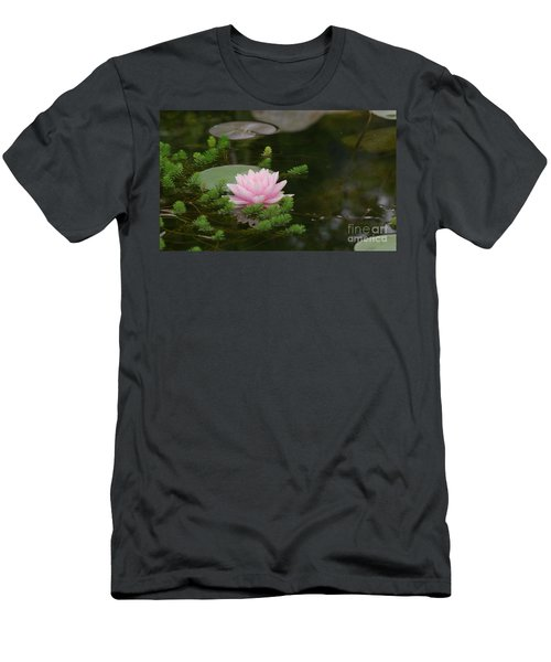 Water Lily Men's T-Shirt (Slim Fit) by Victor K