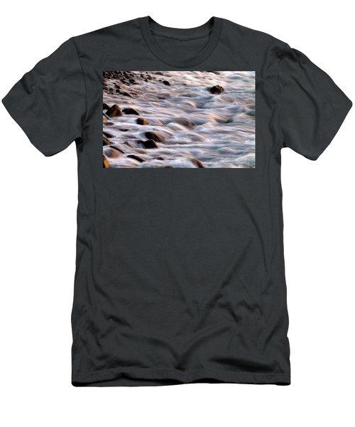Water Movement Men's T-Shirt (Athletic Fit)