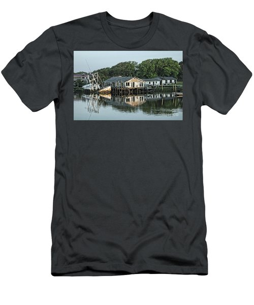Water Reflection  Men's T-Shirt (Athletic Fit)