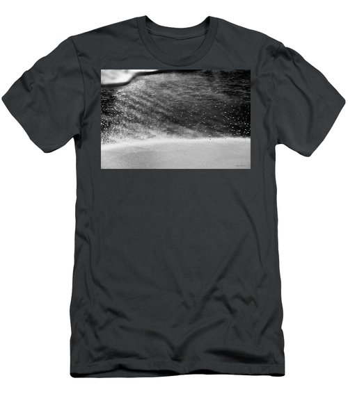 Water Ripples 1 Men's T-Shirt (Slim Fit) by Glenn Gemmell