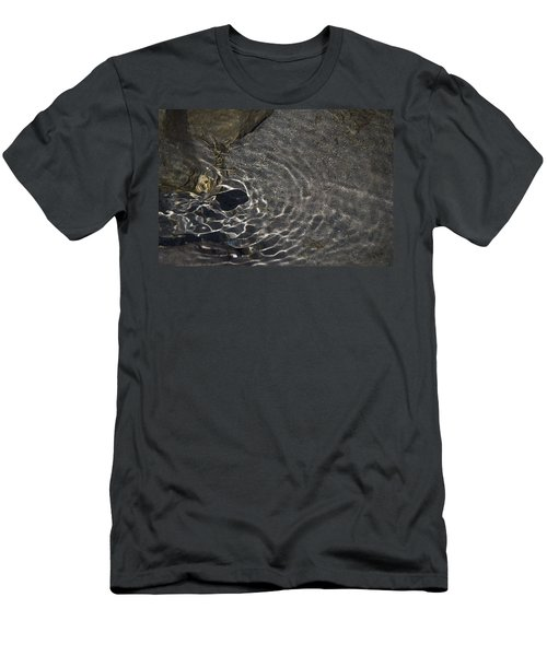 Men's T-Shirt (Slim Fit) featuring the photograph Black Hole by Yulia Kazansky