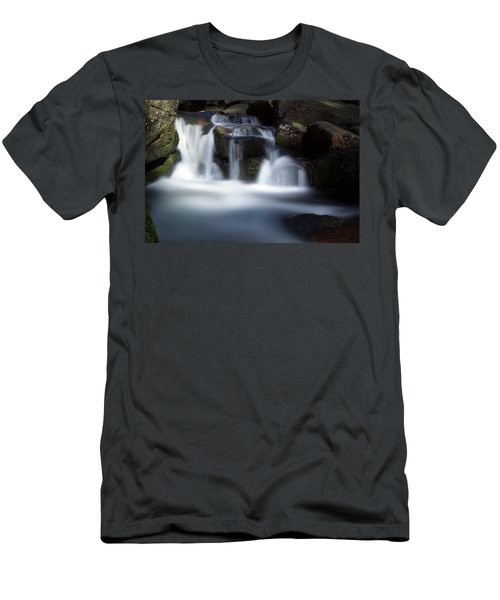 Water Stair - Long Exposure Version Men's T-Shirt (Athletic Fit)