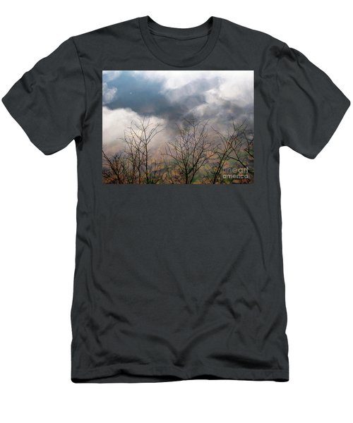 Water Study Men's T-Shirt (Slim Fit) by Melissa Stoudt