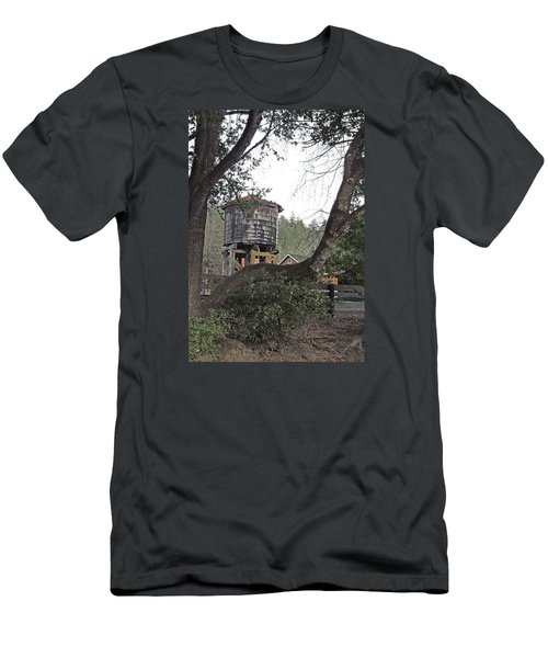 Water Tower @ Roaring Camp Men's T-Shirt (Athletic Fit)