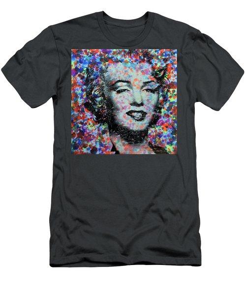 Watercolor Marilyn Men's T-Shirt (Athletic Fit)