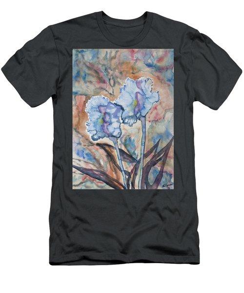 Watercolor - Orchid Impression Men's T-Shirt (Athletic Fit)