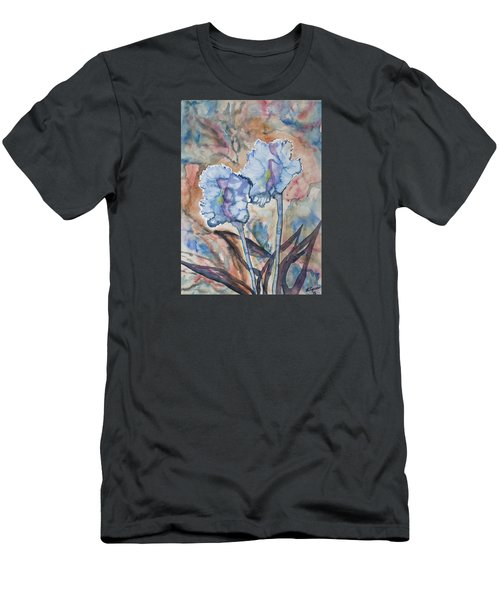 Watercolor - Orchid Impression Men's T-Shirt (Athletic Fit)