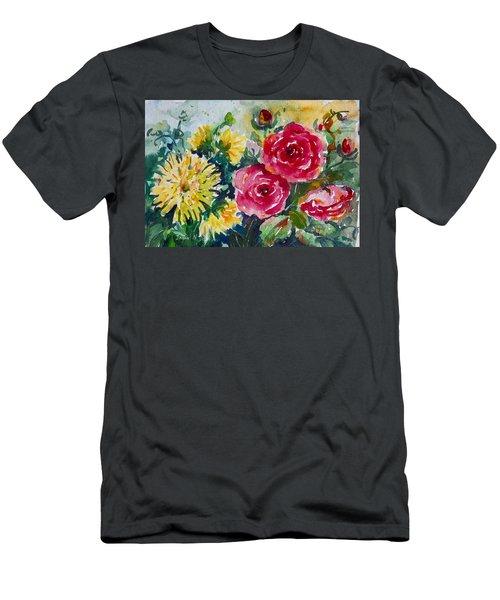 Watercolor Series No. 212 Men's T-Shirt (Athletic Fit)