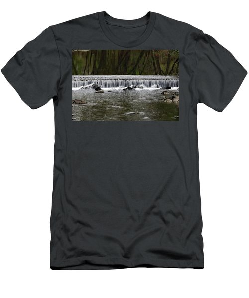 Waterfall 001 Men's T-Shirt (Athletic Fit)