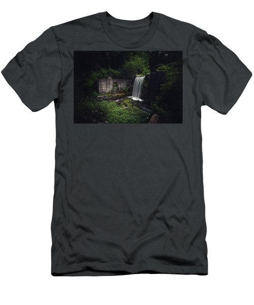 Waterfall At Paradise Springs Men's T-Shirt (Athletic Fit)