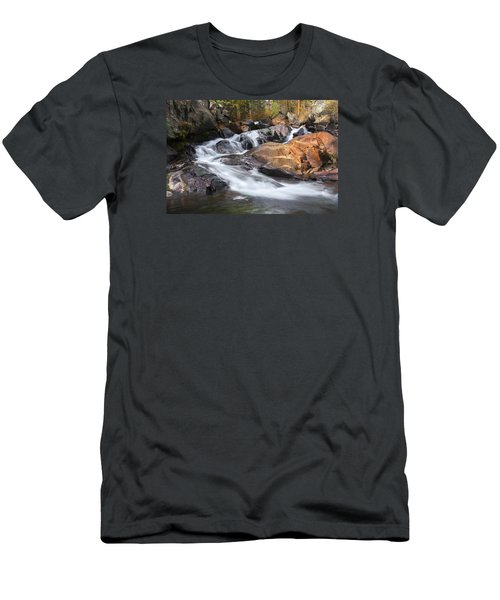 Waterfall In Lee Vining Canyon 2 Men's T-Shirt (Athletic Fit)