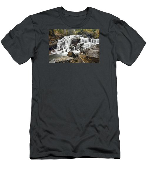Waterfall In Lee Vining Canyon Men's T-Shirt (Athletic Fit)