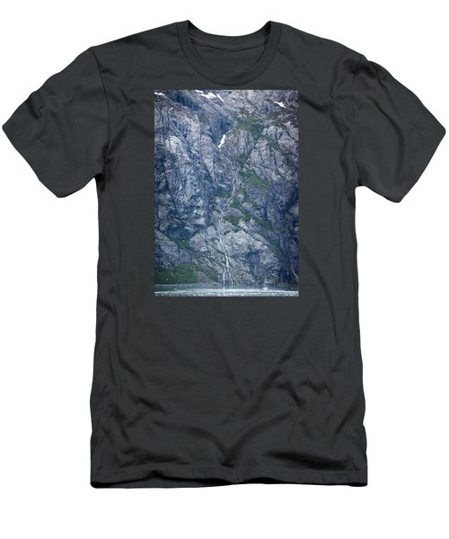 Waterfall Panorama Men's T-Shirt (Athletic Fit)