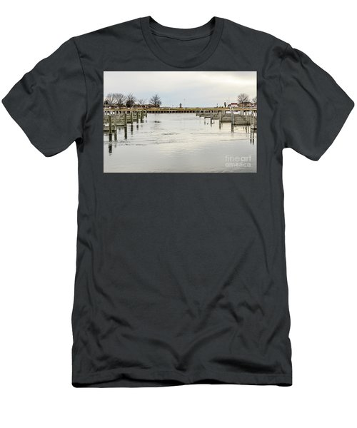 Waterfront Park In Ludington, Michigan Men's T-Shirt (Athletic Fit)