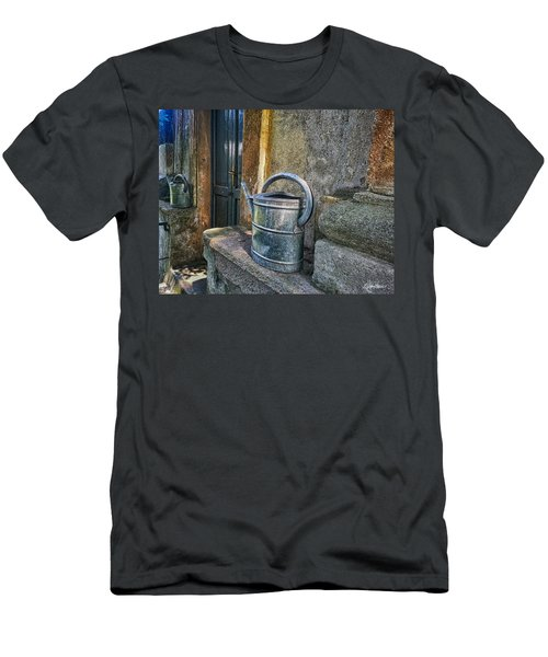 Watering Cans Men's T-Shirt (Athletic Fit)