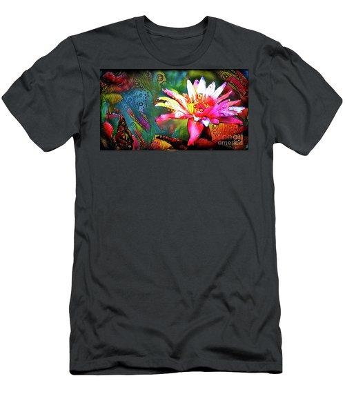 Waterlilies 14 Men's T-Shirt (Athletic Fit)