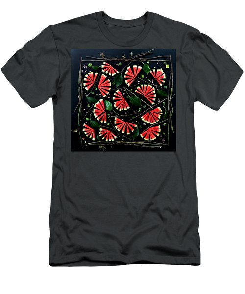 Watermelon Fans Men's T-Shirt (Athletic Fit)