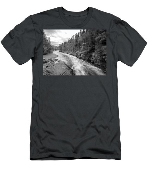 Men's T-Shirt (Athletic Fit) featuring the photograph Waters Edge by Fran Riley