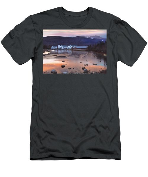 Waterville Valley Sunset Men's T-Shirt (Slim Fit) by Nancy Griswold