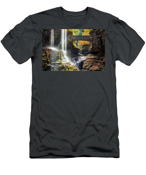 Watkins Glen State Park Men's T-Shirt (Athletic Fit)