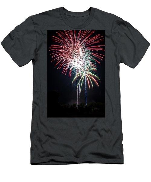 Waukesha Fireworks 01 Men's T-Shirt (Athletic Fit)