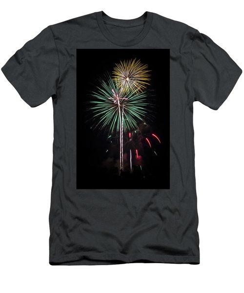 Waukesha Fireworks 02 Men's T-Shirt (Athletic Fit)