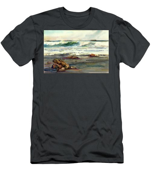 Wave Action Men's T-Shirt (Slim Fit) by P Anthony Visco