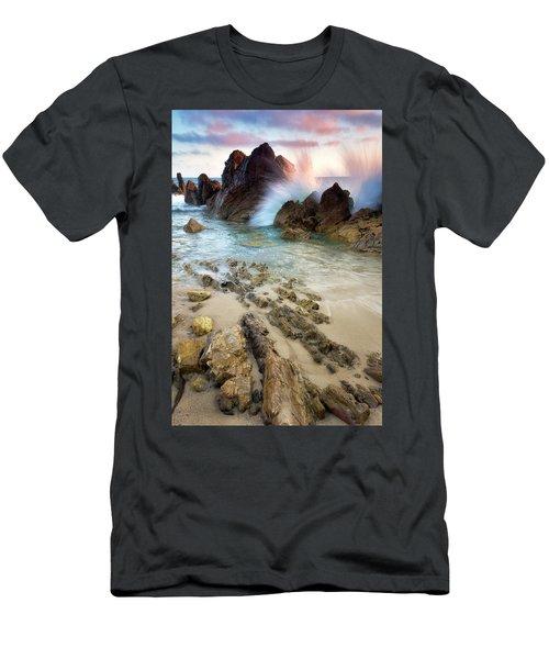 Wave Breaker  Men's T-Shirt (Athletic Fit)